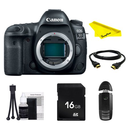 Canon EOS 5D Mark IV DSLR Camera (Body Only) with SD Card + Buzz-Photo Beginners