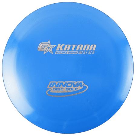 Innova GStar Katana 173-175g Distance Driver Golf Disc [Colors may vary] - 173-175g