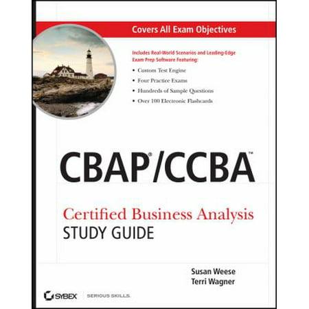 CBAP / CCBA: Certified Business Analysis Study Guide - Walmart.com