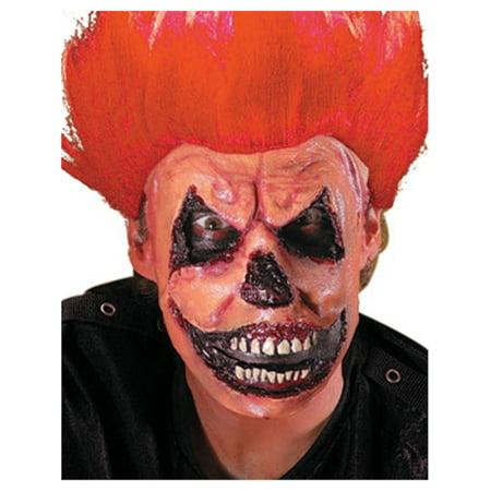 Reel FX Evil Jack Clown Latex Makeup Mask Appliance - Clown Jack O Lantern