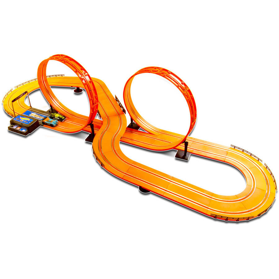 "Kidztech Hot Wheels 20.7"" Electric Slot Track Set"