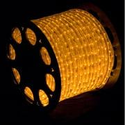 Christmas at Winterland C-ROPE-LED-YE-1-10 150 Foot 10mm Yellow LED Rope Light w