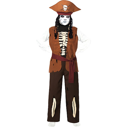 Skeleton Pirate Child Costume by