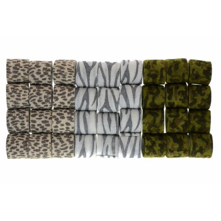 Safari Assortment - Safari Good Assortment Flexible Sports Tape Wrap Case, 2