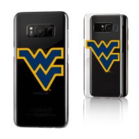 WVU West Virginia Mountaineers Insignia Clear Case for Galaxy S8