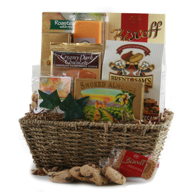 Gourmet Decadence Gift Basket