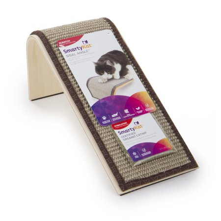 SmartyKat® Sisal Angle™ Ramp Cat Scratcher with -