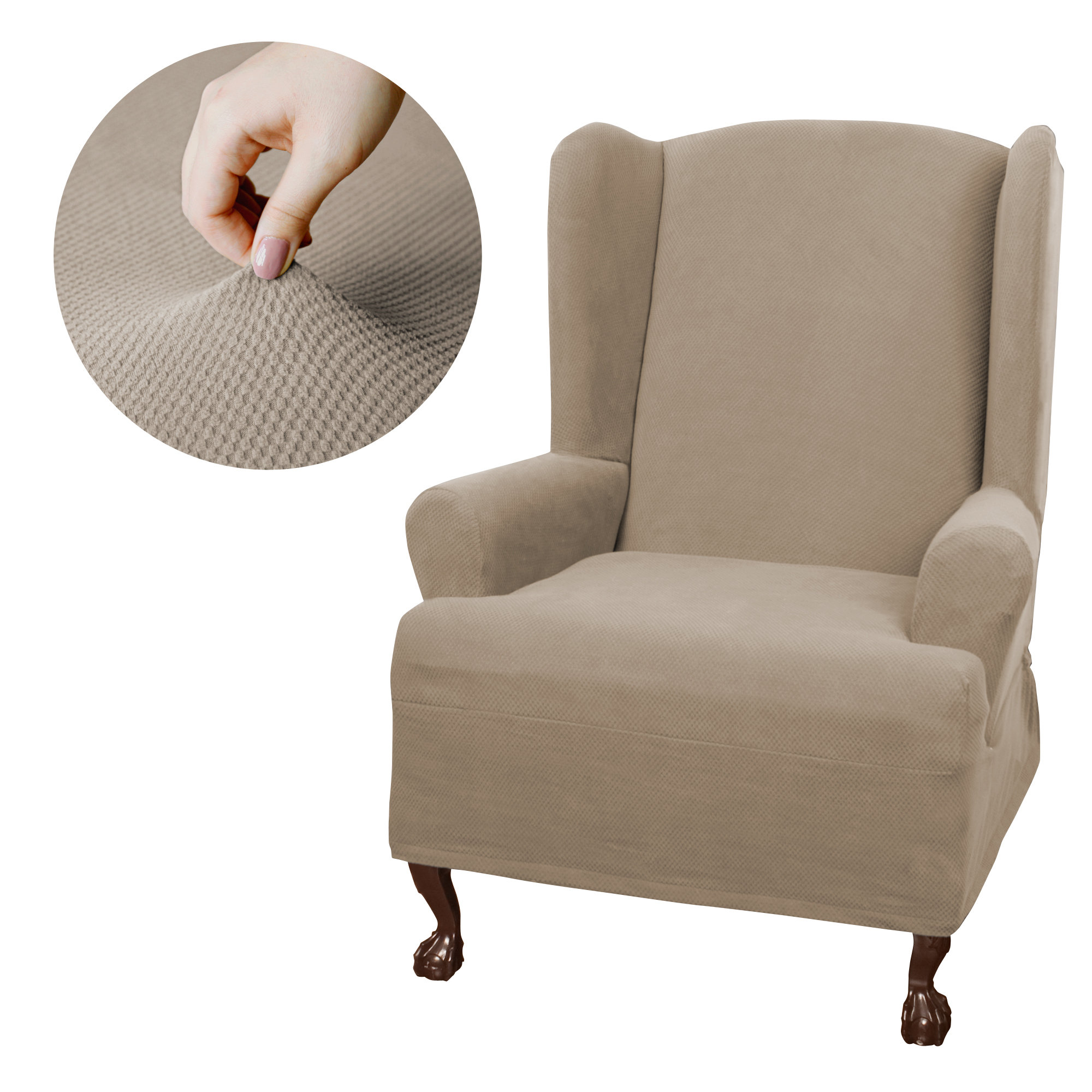 Wing Chair Covers   Walmart.com