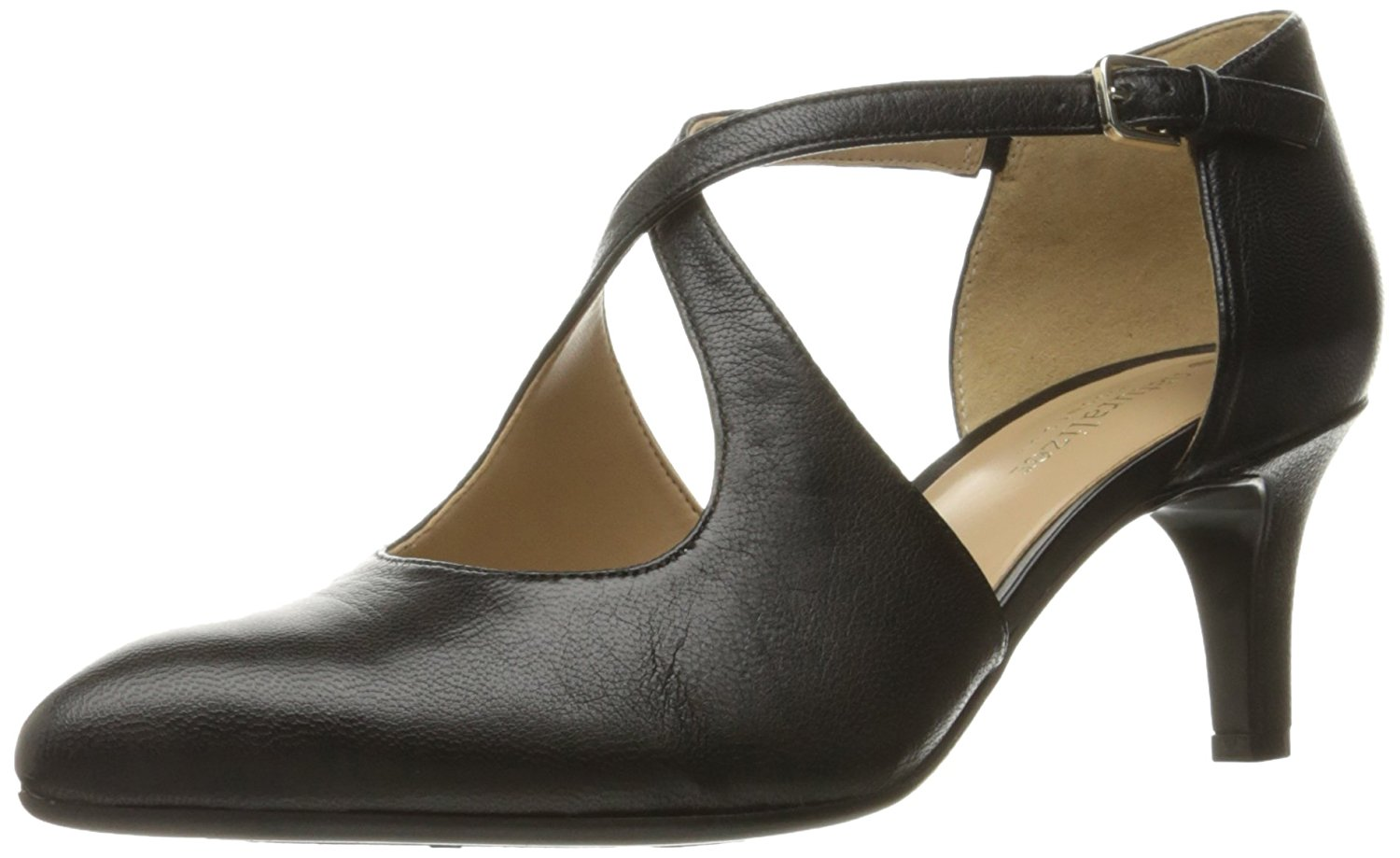 Naturalizer Womens Okira Leather Closed Toe Ankle Strap D-orsay Pumps by Naturalizer