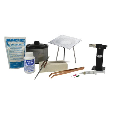 Basic Soldering Kit with 16 Oz Pickle Pot and Jewelry Making Repair Accessories - KIT-200.10