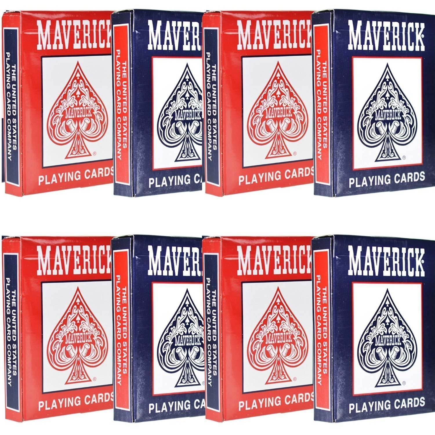 8 Decks of Playing Cards Colors May Vary by