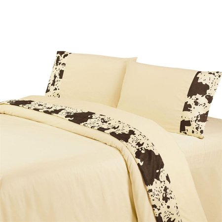 Cowhide Sheet Set by HiEnd (Glass Accent Sheet)