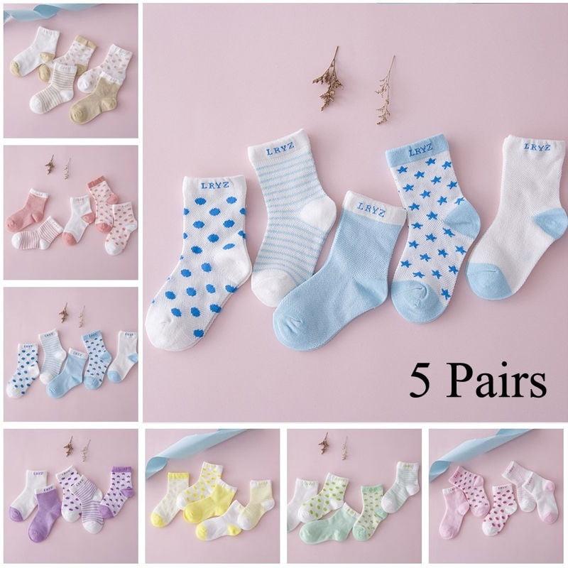 Cute Baby Socks Boy Girl Cartoon Cotton Socks NewBorn Infant Toddler Socks LS