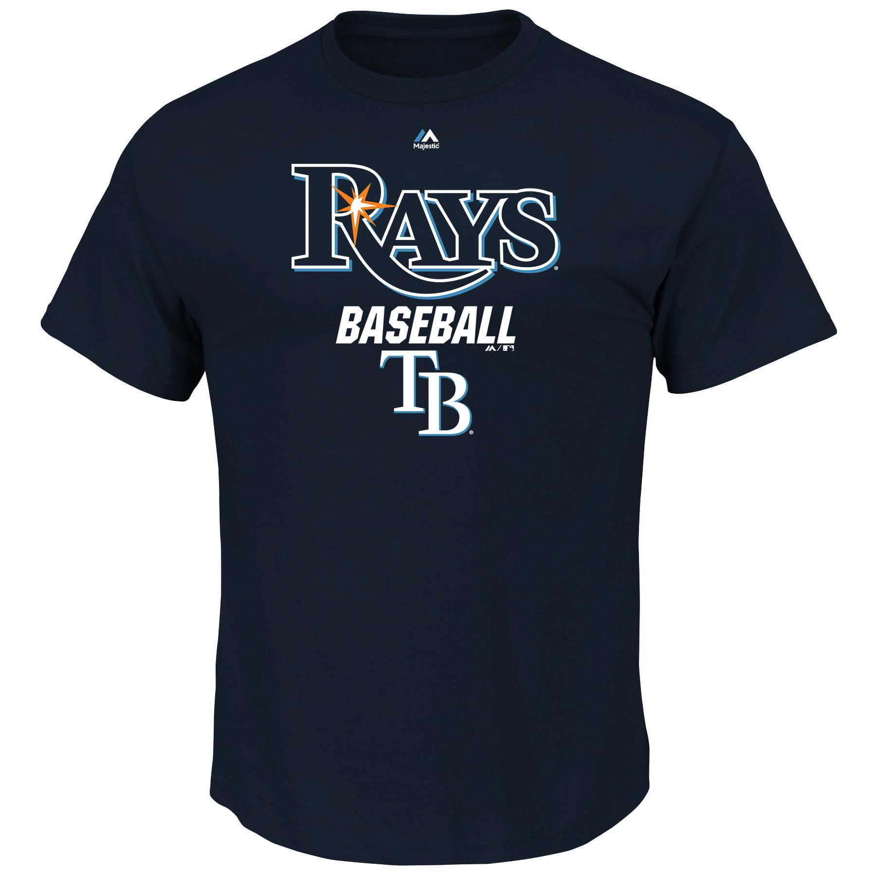 Tampa Bay Rays Majestic Big & Tall All of Destiny T-Shirt - Navy