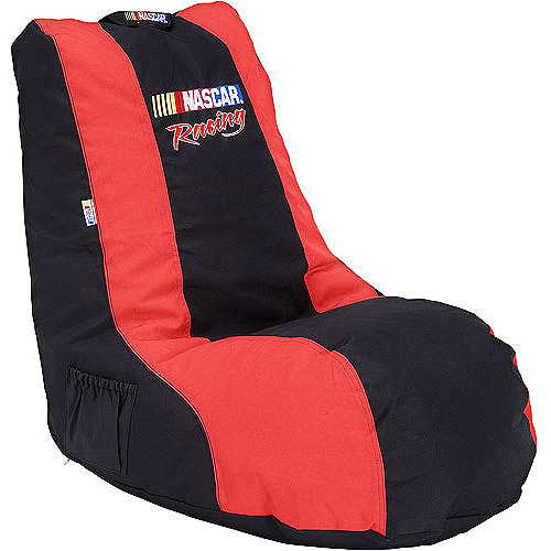 L Shaped NASCAR Signature Video Bean Bag, Multiple Choices