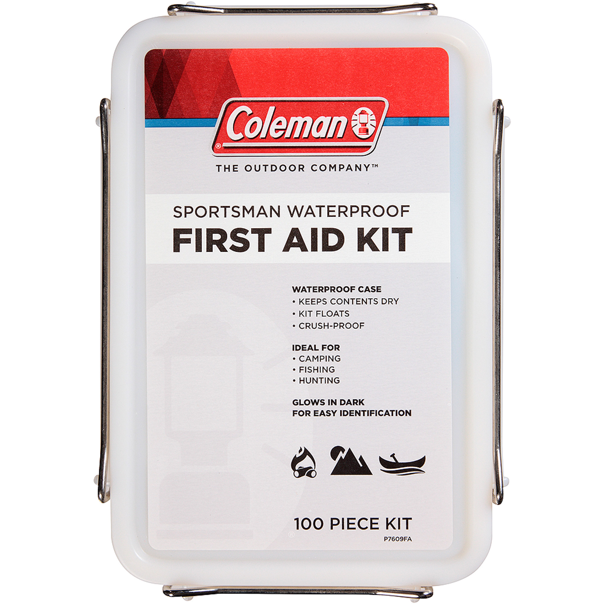 Coleman Sportsman Waterproof First Aid Kit, 100 pc