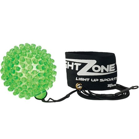 NightZone Light up Sports Flash Back Rebound Ball (Sold Individually - Colors Vary)](Ball That Lights Up)