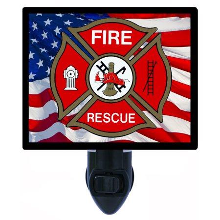 Night Light - Photo Light - Fire Rescue - Fire Fighter ()
