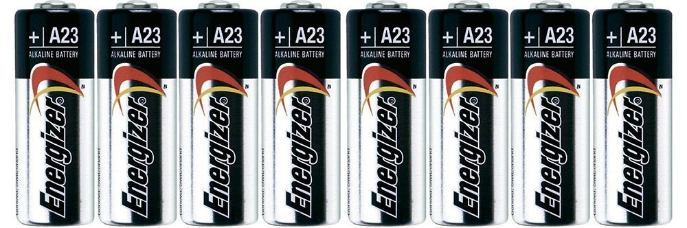 """Energizer A23 DhTtb Battery, 12V, 1.8"""" Height, 0.5"""" Wide, 2.9"""" Length, 4 Count (2 Pack) by"""