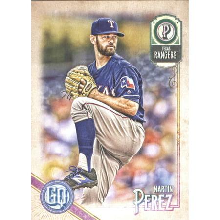2018 Topps Gypsy Queen #32 Martin Perez Texas Rangers Baseball Card - *GOTBASEBALLCARDS