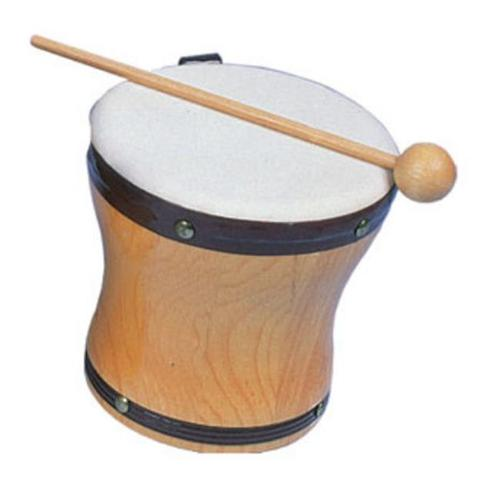 Rhythm Band Instruments RB1025A Small Single Hand Bongo with Mallet by Rythm Band