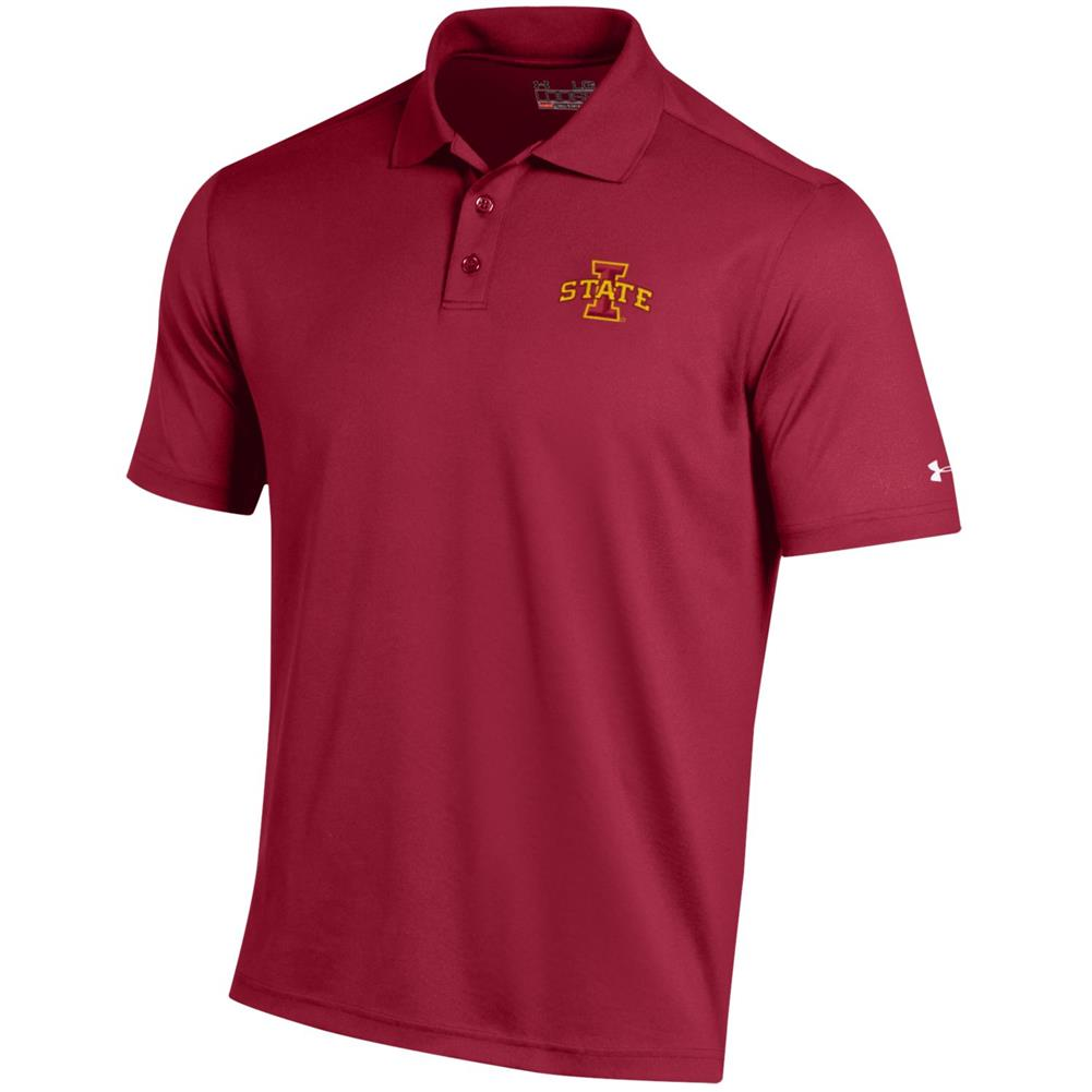 Under Armour Golf Fit Iowa State Cyclones Performance Polo