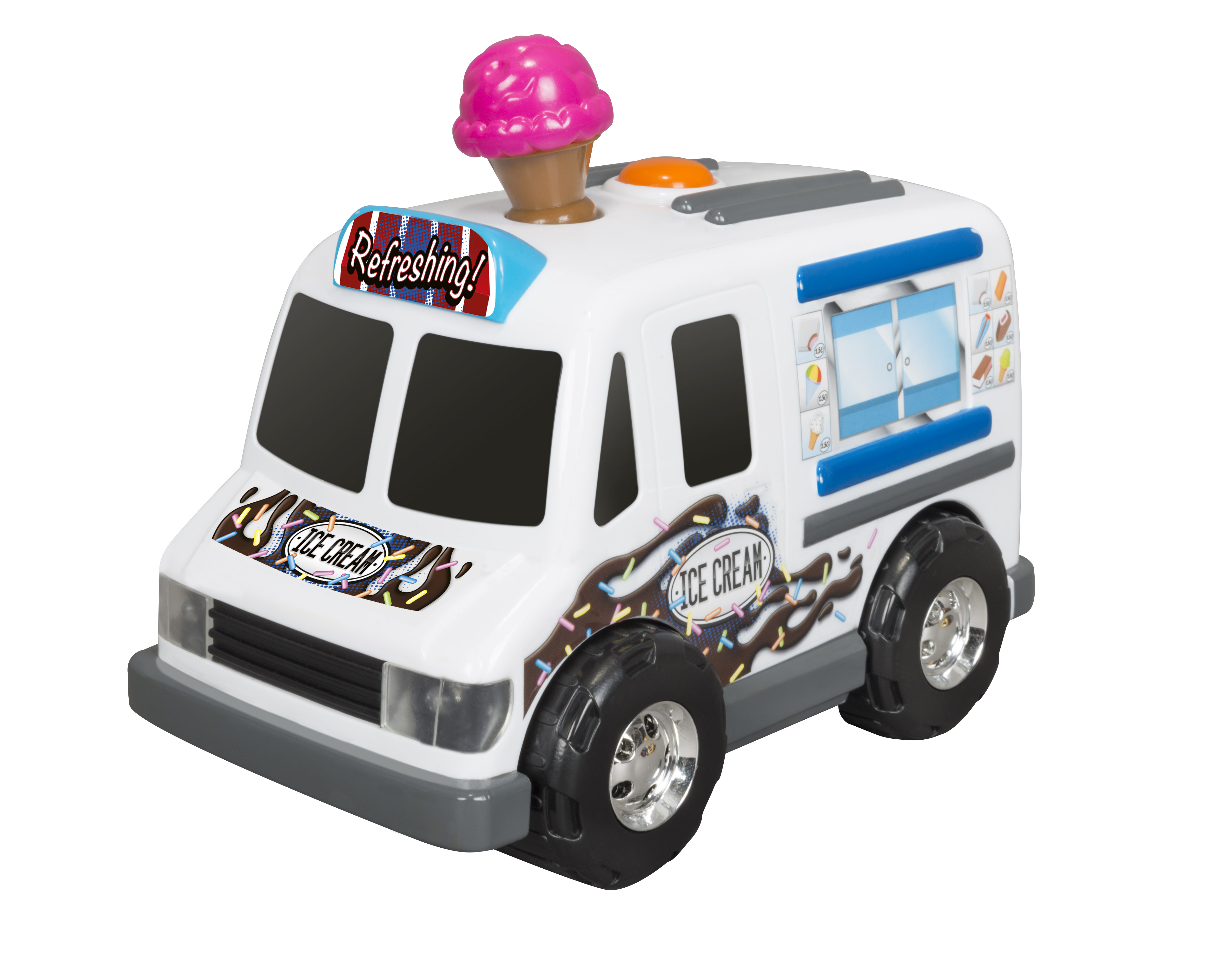 Adventure Force Food Truck Motorized Vehicle, Ice Cream Truck by Toy State International Limited
