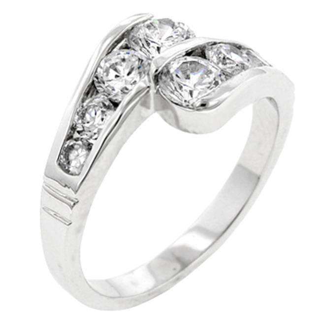 Sunrise Wholesale Merchandise J3566 Curve Ring (size: 10)