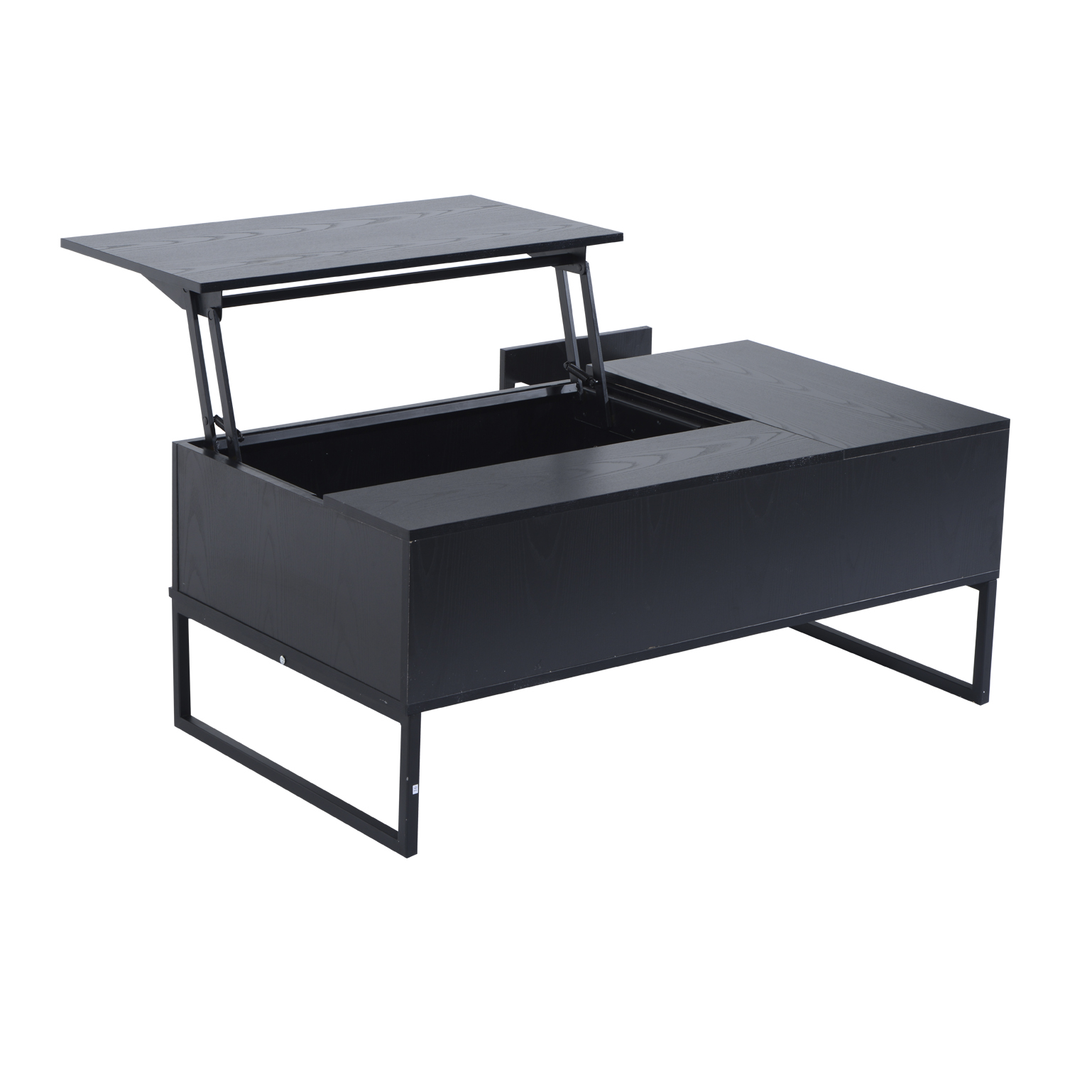 "Walmart Coffee Tables: HomCom 43"" Modern Lift-Top Coffee Table"