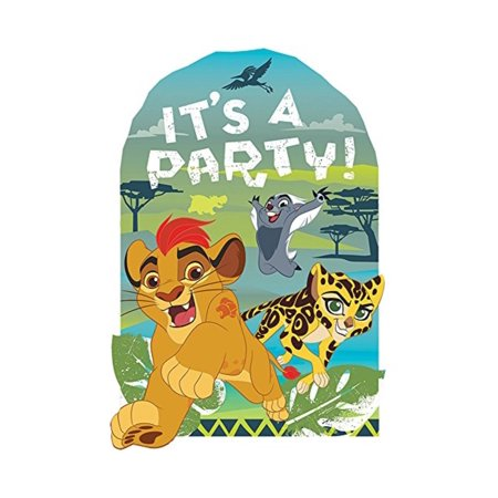 Lion Guard Invitations 8 Count Lion King Birthday Party Supplies