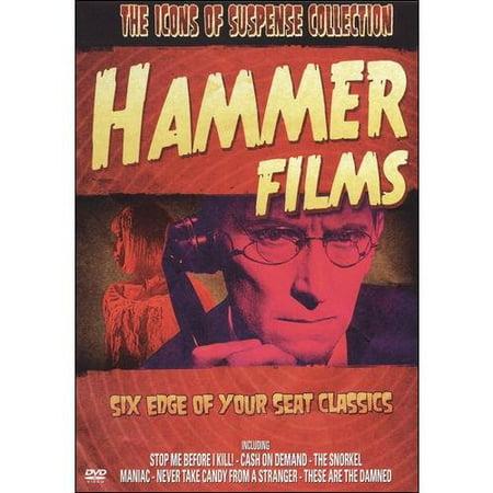 Icons Of Suspense  Hammer Films  Dvd