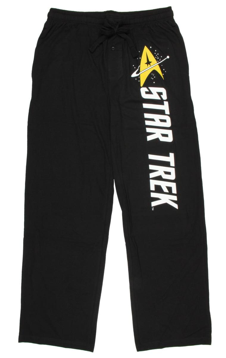 Star Trek Emblem Black Quick turn Lounge Sleep Pants