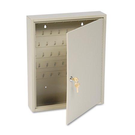SteelMaster Dupli-Key Two-Tag Cabinet, 60-Key, Welded Steel, Sand, 14 x 3 1/8 x 17 1/2 -MMF201806003
