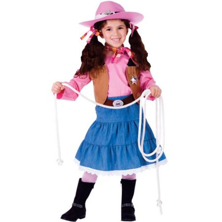 7f44fa85b4d85 Dress Up America 773-S Junior CowGirl Costume  44  Small - Age 4 to ...
