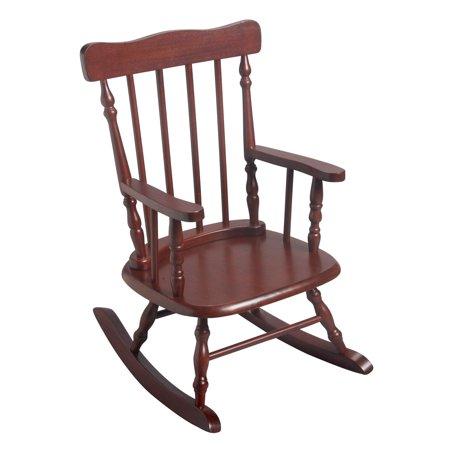 Gift Mark Childrens 3700 Rocking Chair Cherry Walmart Com