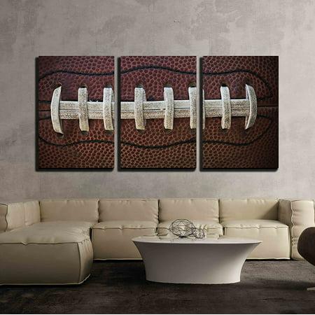 wall26 - American Football Laces - Canvas Art Wall Decor - 24