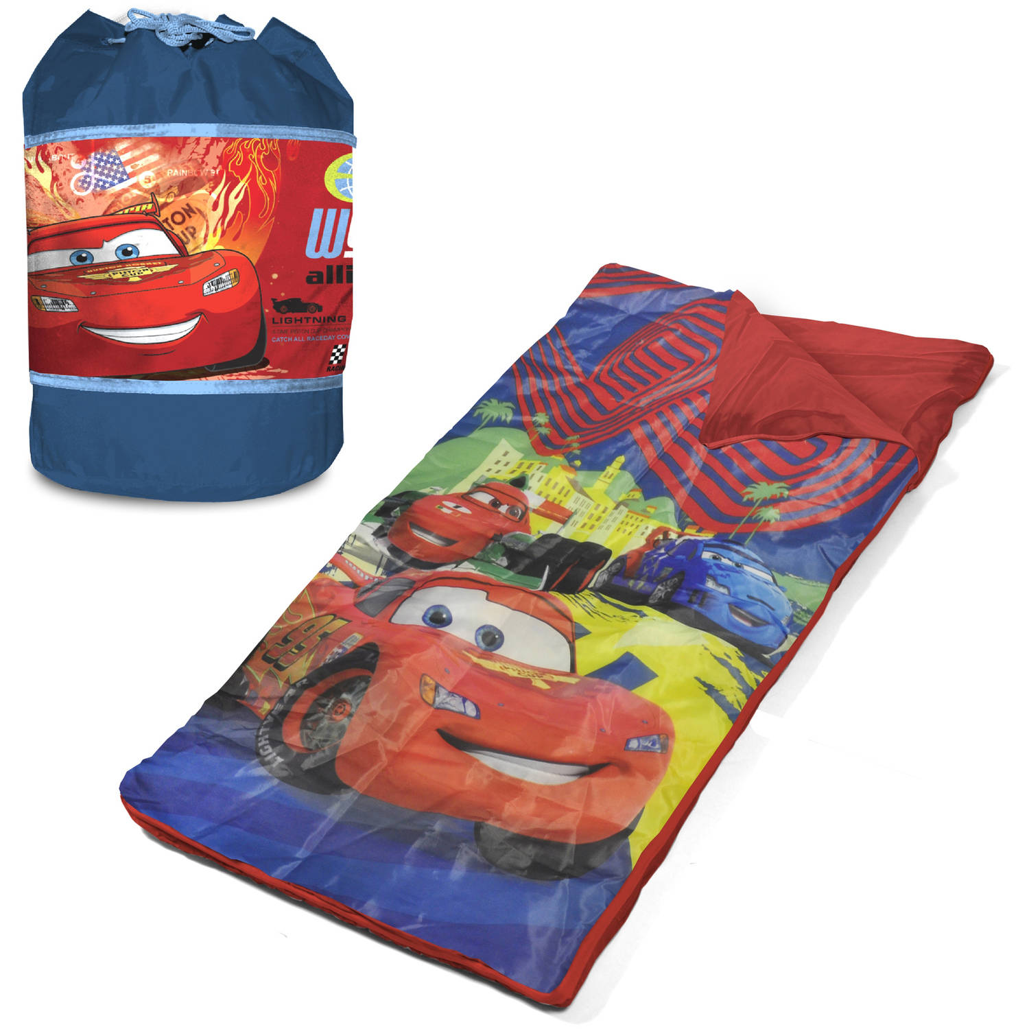 Disney Cars Slumber Duffle with Bonus Sleeping Bag ...