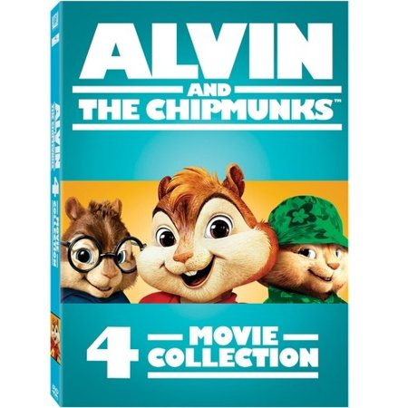 Alvin and the Chipmunks: 4-Movie Collection (DVD)