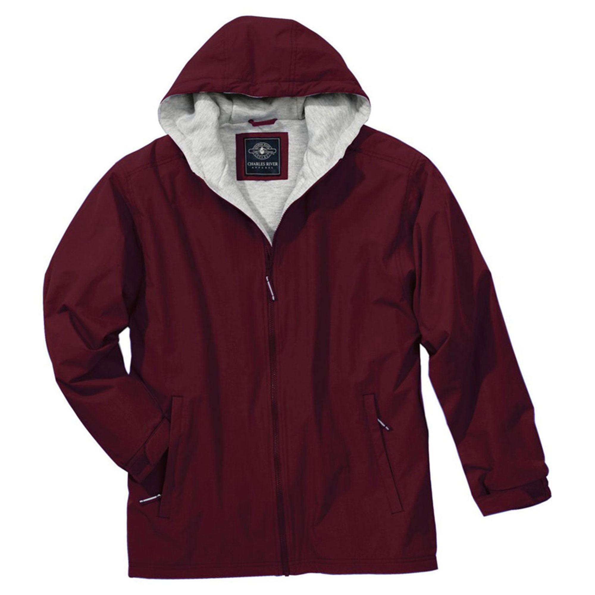 Charles River Apparel Men's Warmth Fleece Sweatshirt Jacket