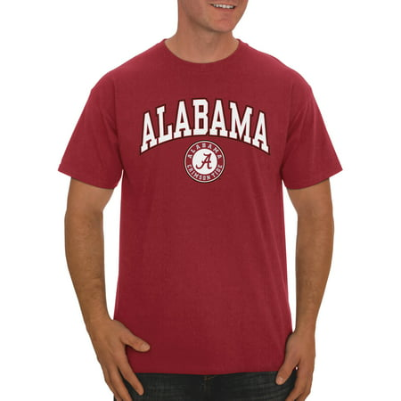Russell NCAA Alabama Crimson Tide, Big Men's Classic Cotton T-Shirt ()