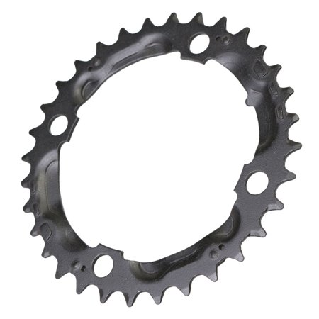 32T Carbon Steel MTB Mountain Bike Cycling Crankset Protect Cover Support Cap Bicycle Chainring Crank Set Chain Wheel Guard For   9 Speed CrankSet - image 5 of 5