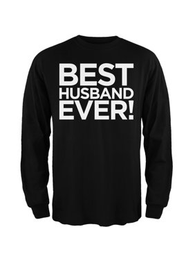 ba97cf19 Product Image Best Husband Ever Black Adult Long Sleeve T-Shirt