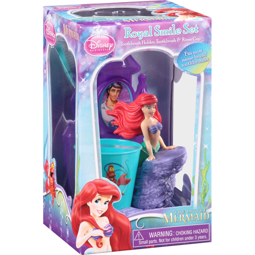 Disney Princess The Little Mermaid Royal Smile Set 3 Pc