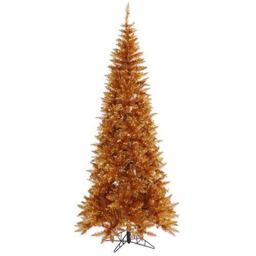 7.5' Copper Fir Artificial Christmas Tree - Unlit