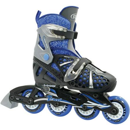 6647022b90ca Roller Derby Tracer Boy s Adjustable Inline - Walmart.com