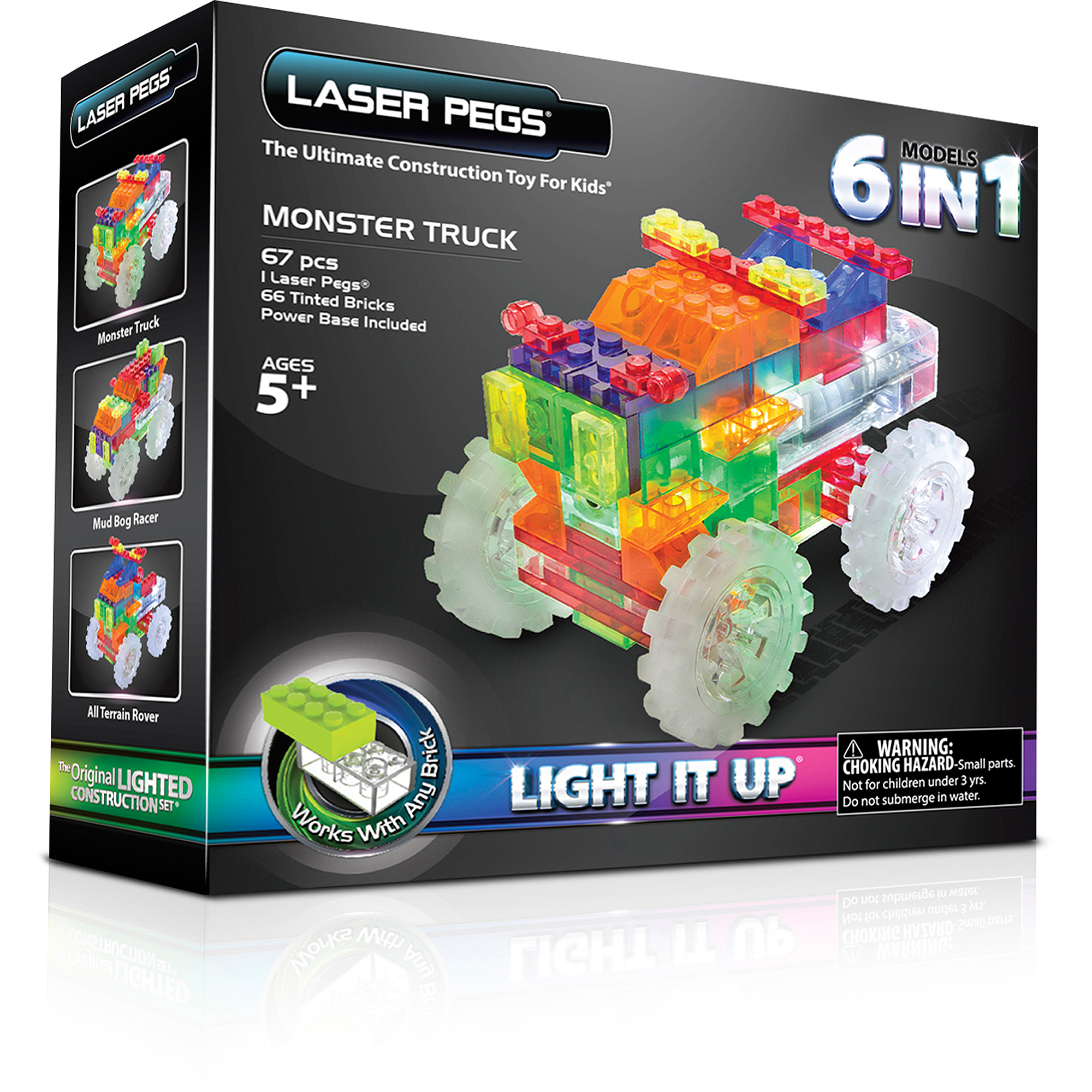Laser Pegs In Monster Truck Walmart Com