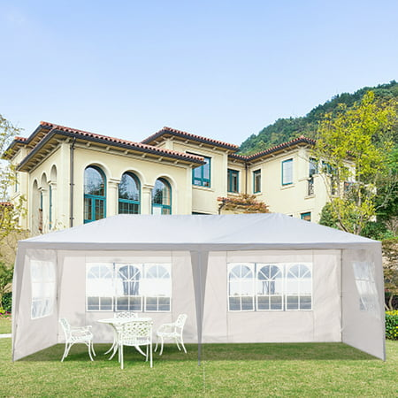 SOFT INC Ez Pop Up Canopy Party Tent for Outside, Ez Up Waterproof Canopy Sun Shade Wedding Instant Folding Protable Better Air Circulation, 10' x 20' Gazebo for Party Wedding