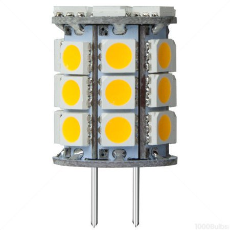4 watt base led 3000 kelvin halogen color replaces 30 watt halogen 12 volt dc. Black Bedroom Furniture Sets. Home Design Ideas