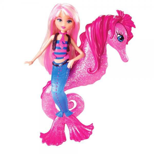 Barbie In A Mermaid Tale Seahorse Stylist Doll - Pink
