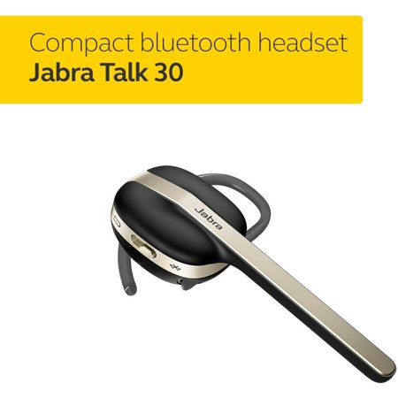 Jabra Talk 30 Bluetooth Headset For High Definition Hands Free Calls In A Stylish Design And Streaming Multimedia Walmart Canada